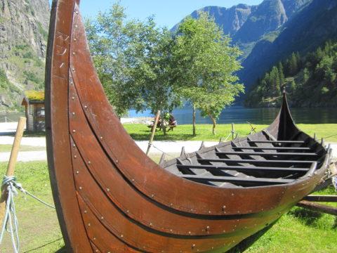 Viking Boat Fiord